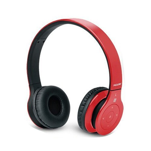 Prolink Bluetooth Stereo Headset with NFC Fervor Tune PHB6002 - Red