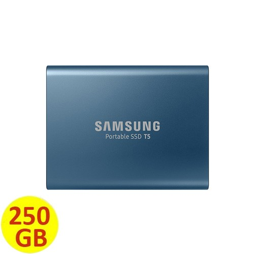 Samsung Portable SSD T5 250 GB - Blue