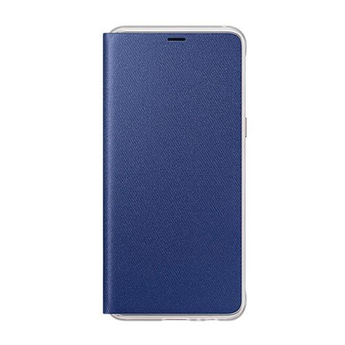 Samsung Neon Flip Case for Galaxy A8 (2018 Edition) - Blue
