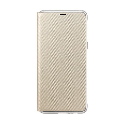 Samsung Neon Flip Case for Galaxy A8 (2018 Edition) - Gold
