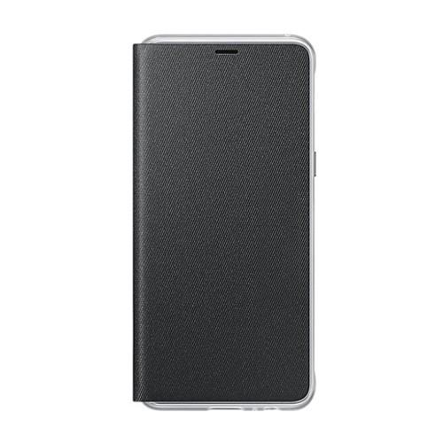 Samsung Neon Flip Case for Galaxy A8 (2018 Edition) - Black