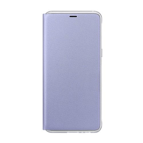 Samsung Neon Flip Case for Galaxy A8 (2018 Edition) - Violet