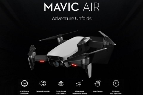 DJI Mavic Air Combo - Onyx Black