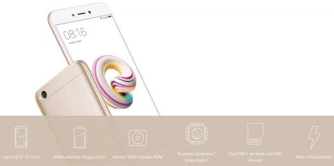 Xiaomi Redmi 5A - Blue