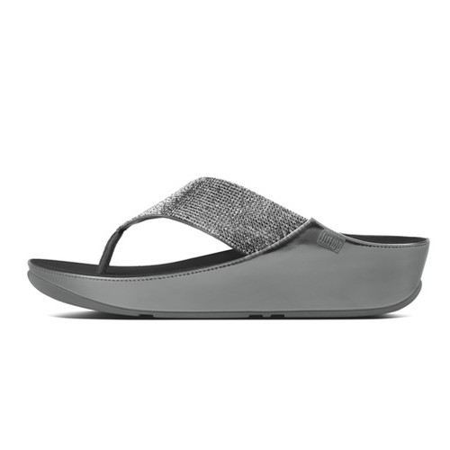 Fitflop Crystall [B36-054], Pewter, (7)