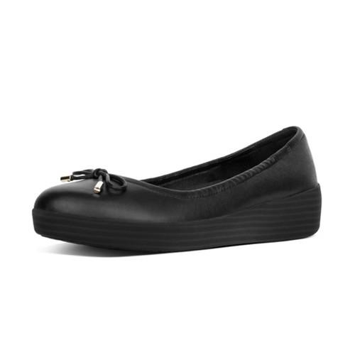 Fitflop Superbendy Ballerinas - Black, (7)