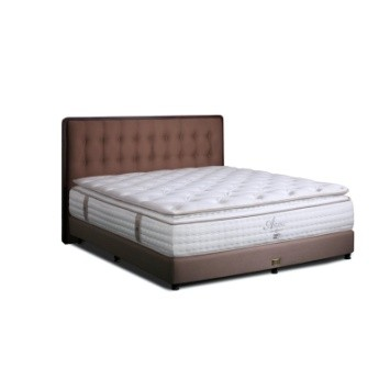 King Koil Kasur Springbed Amani Full Set - Queen (160x200)