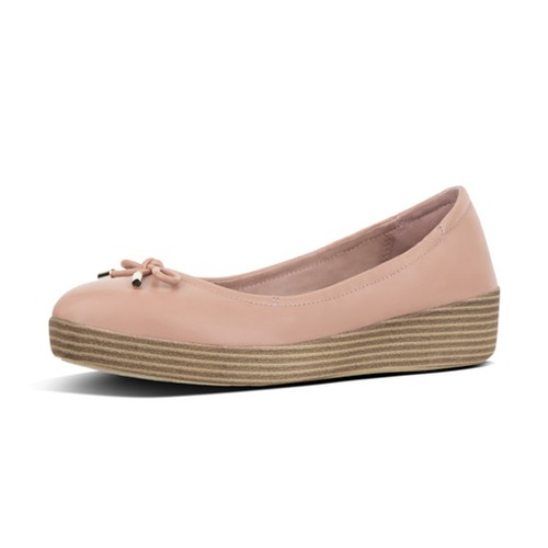 Fitflop Superbendy Mary Janes, Nude, (7)