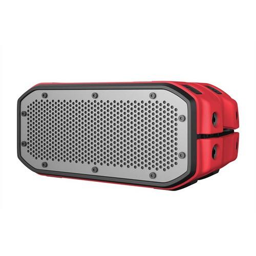 Braven Waterproof Bluetooth Speaker BRV-1M - Red/Black/Titanium Grill