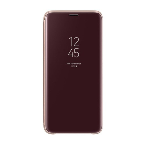 Samsung Clear View Standing Cover  for Galaxy S9 - Gold