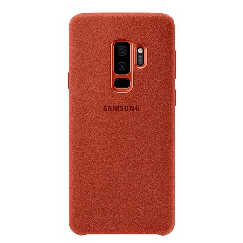 Samsung Alcantara Cover for Galaxy S9+ Red