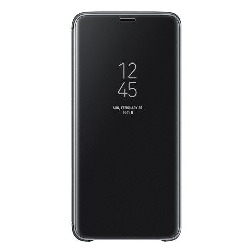 Samsung Clear View Standing Cover for Galaxy S9+ Black