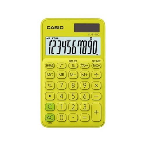 Casio Kalkulator SL-310UC-YG - Yellow