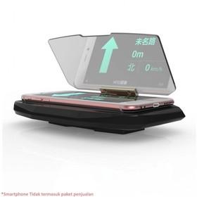HUD GPS Mobile Glass Reflec