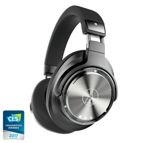Audio Technica Wireless Over-Ear Headphones with Pure Digital Drive ATH-DSR9BT - Black