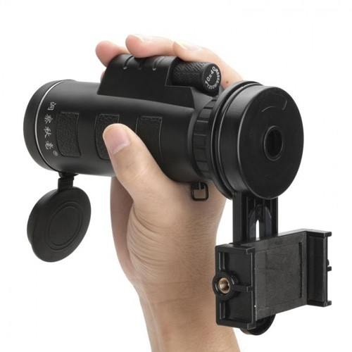 Universal Tele Camera Lens Monocular with Smartphone Holder