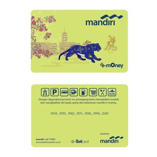 Mandiri e-Money Imlek - Tiger