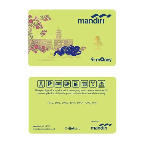 Mandiri e-Money Imlek - Rabbit