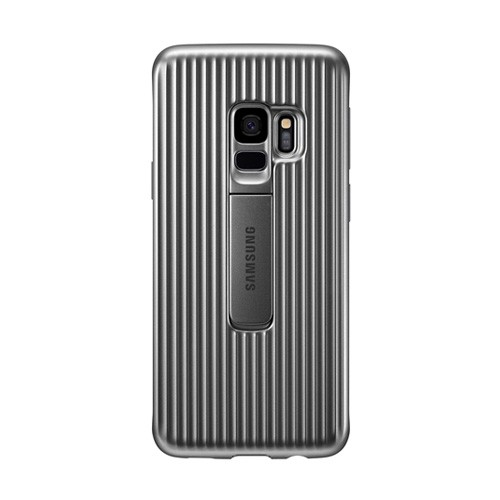 Samsung Protective Standing Cover for Galaxy S9 - Silver