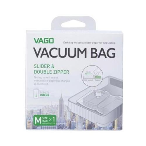 Vago Vacuum Bag Plastic Medium