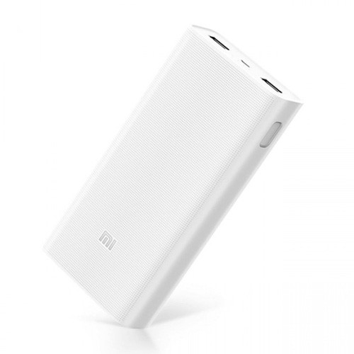 Xiaomi Power Bank 2C Dual Port with Quick Charge 3.0 20.000 mAh - White