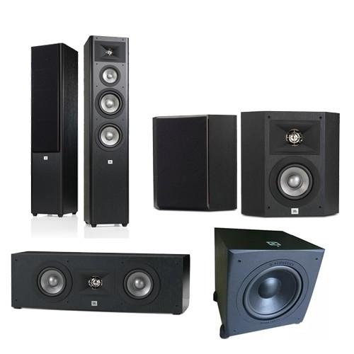 JBL Studio 280 + JBL Studio 210 + JBL Studio 225 C + QA 12.400