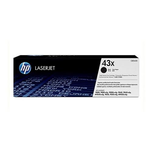 HP 43X High Yield Black Original LaserJet Toner Cartridge C8543X