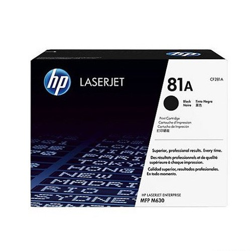 HP Black LaserJet Toner Cartridge CF281A