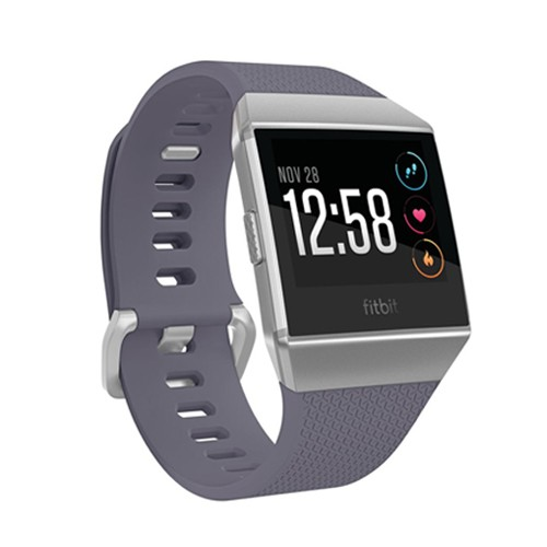 Fitbit Ionic Heart Rate GPS Fitness SmartWatch - Blue Gray/White
