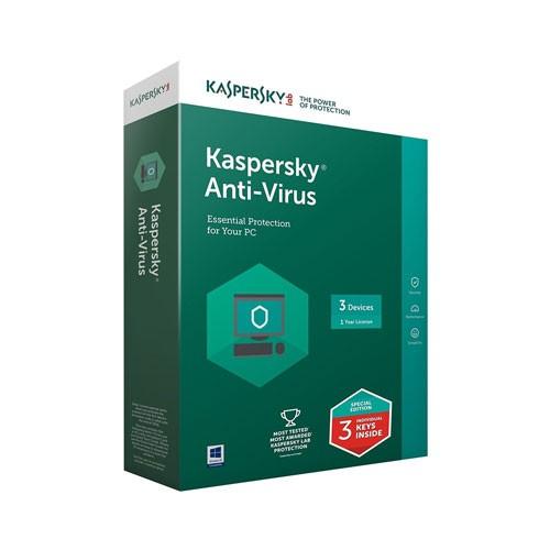 Kaspersky Anti Virus 3 User (2018)