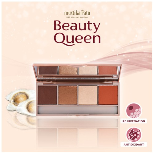 BEAUTY QUEEN EYE S & BLUSH ON 01 12 GR