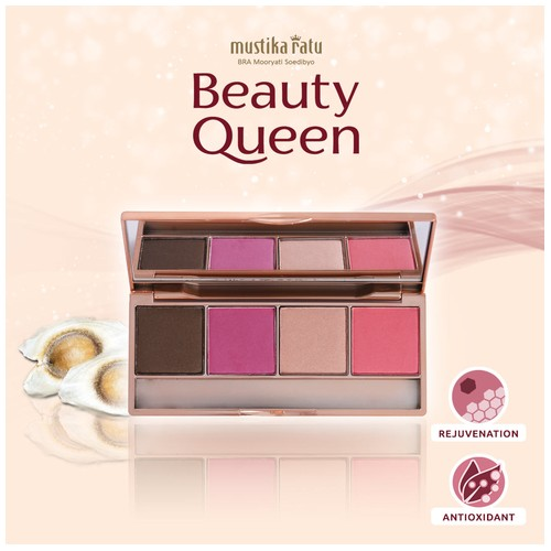 Beauty Queen Eye S. Blush On 02