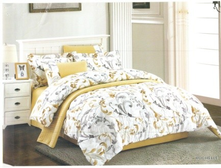 Juliahie Rochelle Bed Cover Set Sprei Queen Fitted