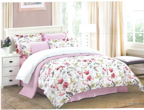 Juliahie Rowena Bed Cover Set Sprei Queen Fitted
