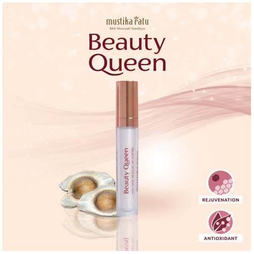 Beauty Queen Coating Metalic Lip Silver