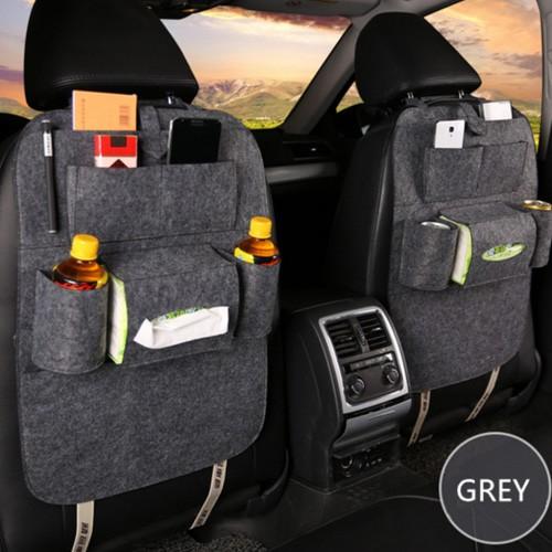 Car Seat Organizer Multifungsi (Tas Mobil Belakang Jok) - Gray