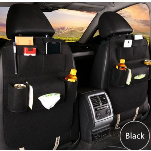 Car Seat Organizer Multifungsi (Tas Mobil Belakang Jok) - Black