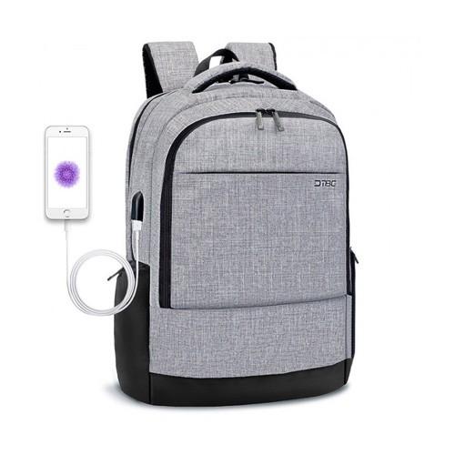DTBG Slim Backpack for Laptop 17.3 Inch with USB Port D8223W