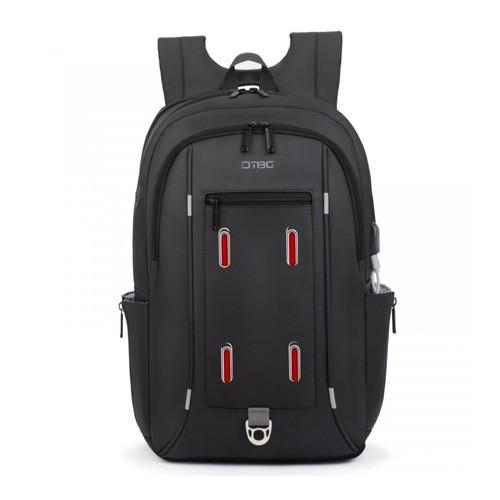 DTBG Slim Backpack for Laptop 17.3 Inch with USB Port D8227W