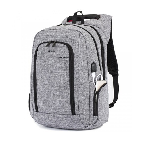DTBG Slim Backpack for Laptop 17.3 Inch with USB Port D8234W