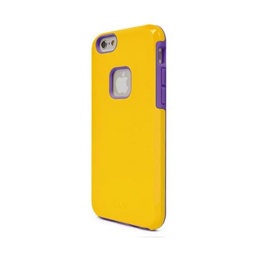 ILuv Regatta Dual layer Case for iPhone 6 AI6REGAYE - Yellow