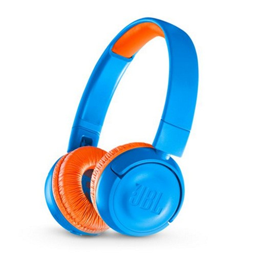 JBL Kids Wireless On-Ear Headphones JR300BT - Rocker Blue