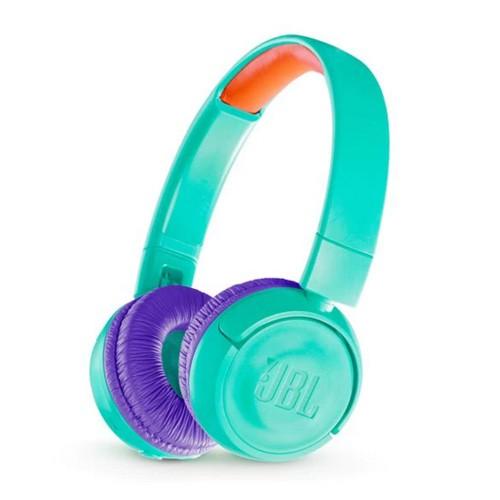 JBL Kids Wireless On-Ear Headphones JR300BT - Tropic Teal