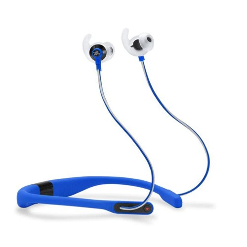 JBL Reflect Fit In-Ear Wireless Headphones with Heart-Rate Monitor - Blue