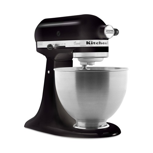 KitchenAid Classic 4.3 L Tilt-Head Stand Mixer 5K45SSEOB - Black