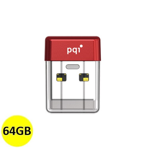 PQI Flash Drive USB 3.0 64GB U603V - Red