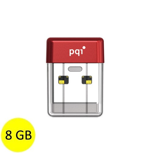 PQI Flash Drive USB 3.0 8GB U603V - Red
