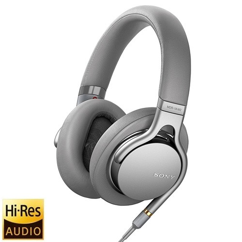 Sony Hi-Res Headphones with Heavyweight Bass MDR-1AM2 - Silver