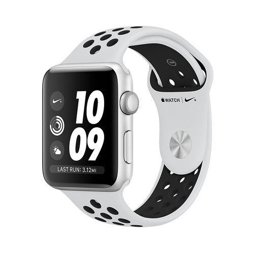 Apple Watch Nike+ Series 3 GPS 38mm - Silver Aluminium Case with Pure Platinum/Black MQKX2ID/A