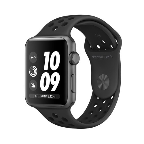 Apple Watch Nike+ Series 3 GPS 38mm - Space Gray Aluminum Case with Anthracite/Black MQKY2ID/A